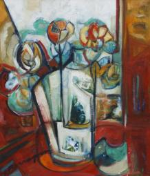 Ayer Mañana -oil on paperboard - 60 x 50 cm