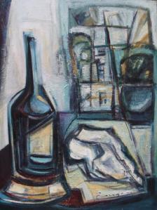 De día lejos -oil on xxx- 61 x 46 cm