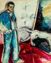 Espera de julio -acrylic on canvas- 105 x 85 cm