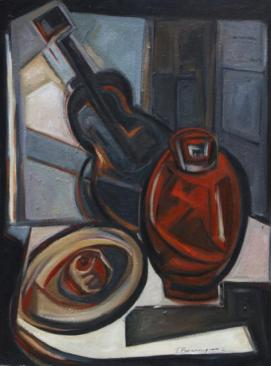 Intimidades -oil on hardboard- 80 x 60 cm