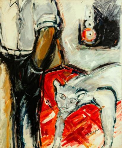 Sentimientos de un lunes -acrylic on canvas- 120 x 100 cm